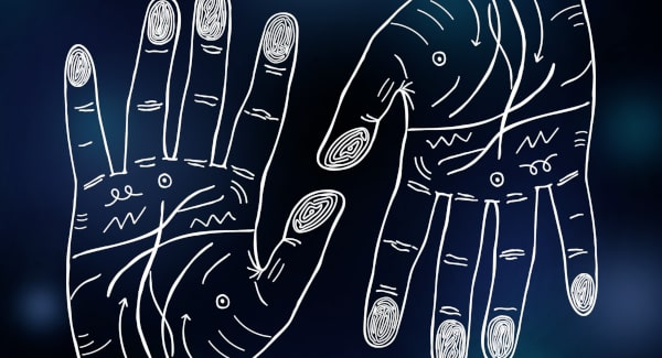 Chiromancja - los zapisany na dłoni